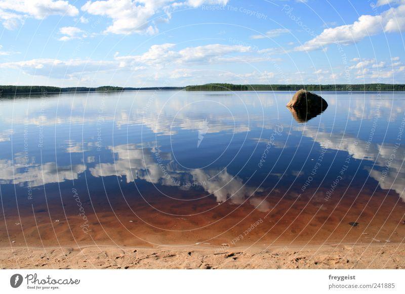 Red Water Himmel Natur Ferien & Urlaub & Reisen Pflanze schön Wasser Sommer Erholung Meer Landschaft ruhig Wolken Strand Ferne Umwelt Freiheit