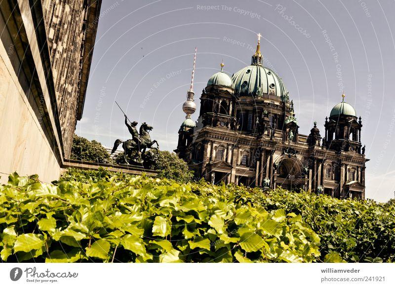 Berliner Dom Architektur Religion & Glaube Deutschland ästhetisch Kirche Europa historisch Wahrzeichen Hauptstadt Sehenswürdigkeit Bekanntheit Deutscher Dom