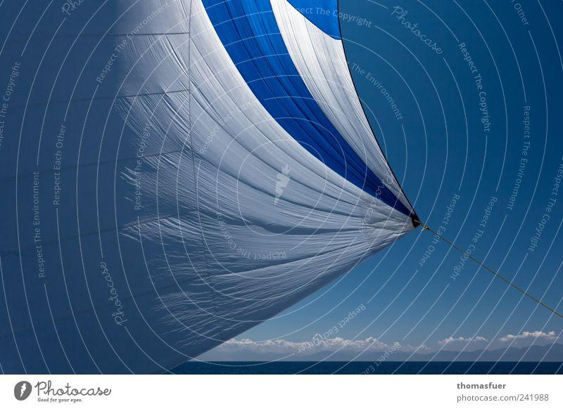 nein, fliegen ist nicht schöner! Wasser Himmel Meer Sommer Strand Ferien & Urlaub & Reisen Wolken Ferne Freiheit Luft Küste Wellen Horizont Erde Ausflug Insel