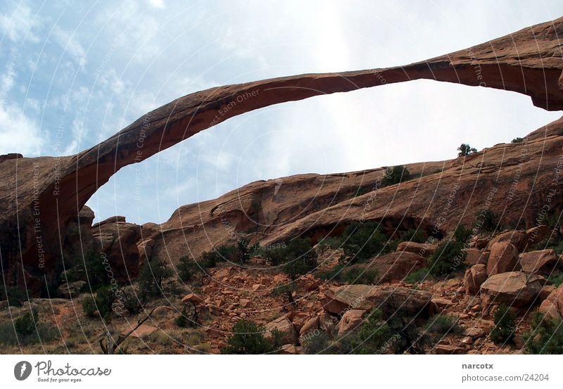 big arch Stein Brücke USA Amerika Bogen Nationalpark Südwest
