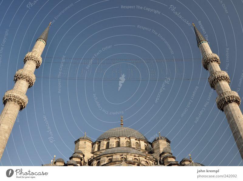 lena liebt mich blau Architektur grau Religion & Glaube Gebäude groß Tourismus Macht Bauwerk historisch Tradition Hauptstadt Sehenswürdigkeit Türkei