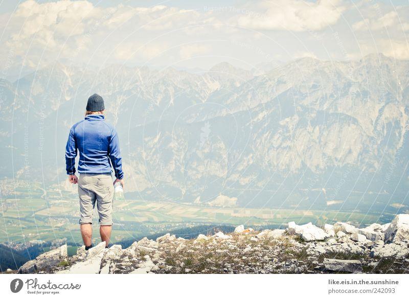 als columbus innsbruck entdeckte... Wohlgefühl Zufriedenheit Sinnesorgane Ausflug Abenteuer Sommer Berge u. Gebirge wandern Klettern Bergsteigen Bergsteiger