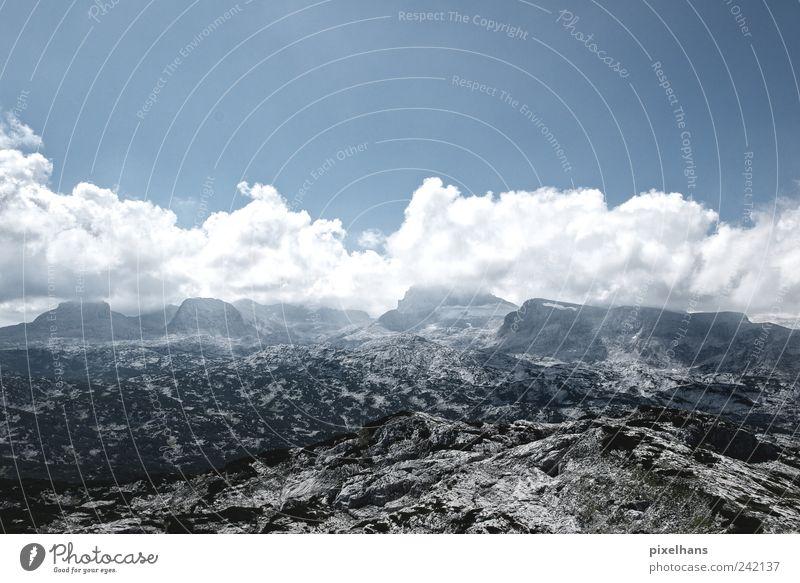 Misson to Mars Himmel Natur alt blau Sommer weiß Erholung Landschaft Wolken Ferne schwarz Berge u. Gebirge Freiheit Stein braun Felsen