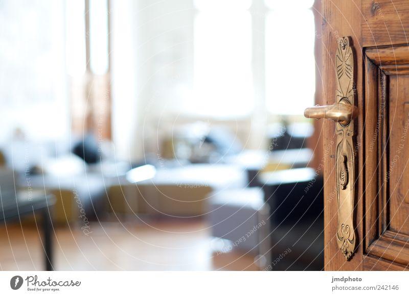 Tag der offenen Tür alt ruhig träumen Raum Wohnung elegant Design modern ästhetisch Innenarchitektur Lifestyle Häusliches Leben Vertrauen entdecken