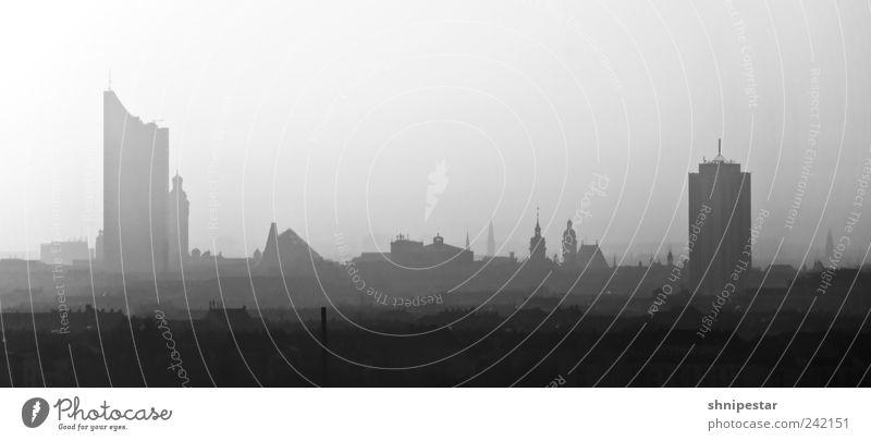 Mein Leipzig lob' ich mir! Natur Stadt Haus Ferne kalt Umwelt Gefühle Luft Wohnung Tourismus Lifestyle Häusliches Leben Wandel & Veränderung Kultur Skyline