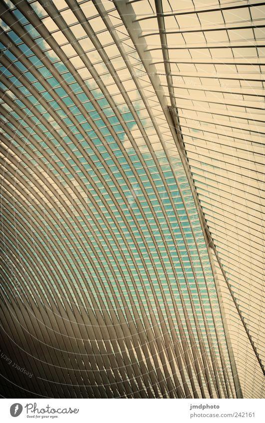 Lüttich Bahnhof Stil Design Ferien & Urlaub & Reisen Tourismus Sightseeing Städtereise Fortschritt Zukunft Bauwerk Architektur Bahnfahren ästhetisch Coolness