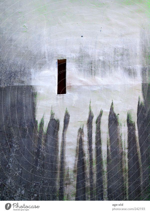 Tristesse Altstadt Burg oder Schloss Mauer Wand Stein dunkel historisch braun grau weiß Traurigkeit Einsamkeit Vergangenheit Gedeckte Farben Außenaufnahme