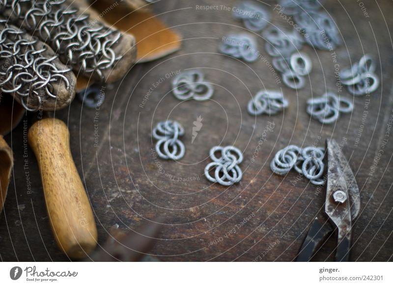 Ritter Rosts Strickzeug Metall Kreis Bekleidung Kultur Schutz Handwerk machen Werkzeug Kette Künstler Kunstwerk verbinden fertig Verbundenheit Beruf