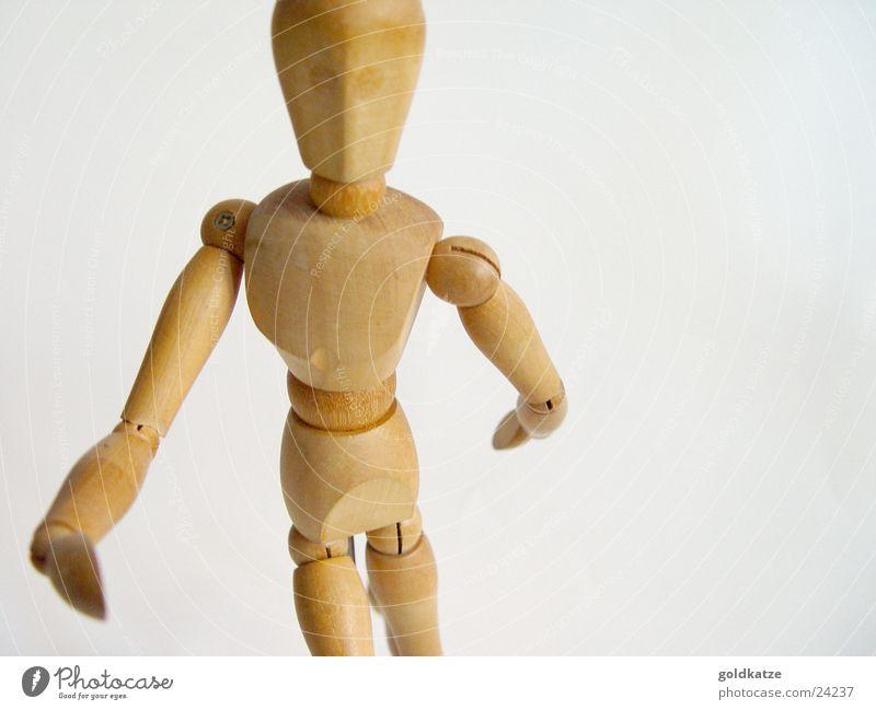 holzfigur Freizeit & Hobby Spielen Modellbau lernen Schüler Student Körper Kopf Arme Kunst Künstler Puppe Holz Bewegung zeichnen einfach braun beweglich