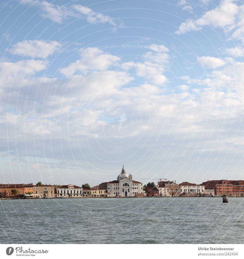Venice, not really loved Himmel Wasser alt schön Ferien & Urlaub & Reisen Sommer Gebäude Europa Reisefotografie Italien Skyline Schönes Wetter Sehenswürdigkeit Venedig Bekanntheit Hafenstadt