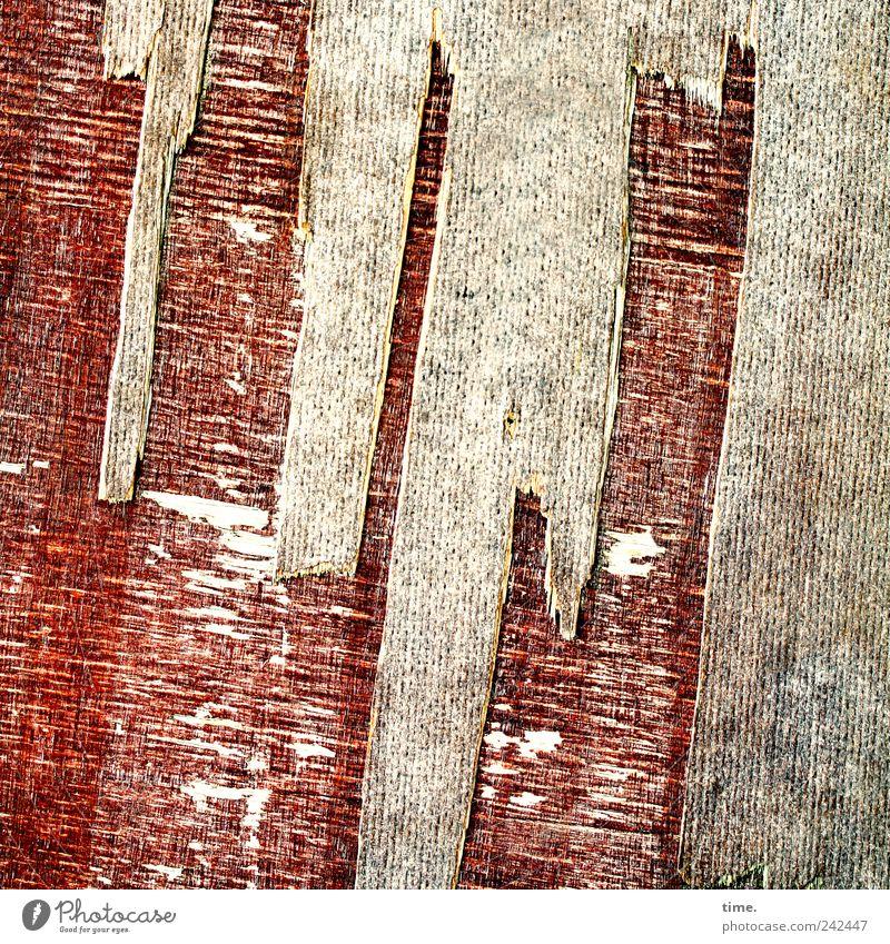 Ritterburg, Skyline Menschenleer Kunst Tischlerplatte Holz Holzbrett Beschichtung alt Sand Multiplexplatte abgesplittert rottig diagonal braun Farbfoto