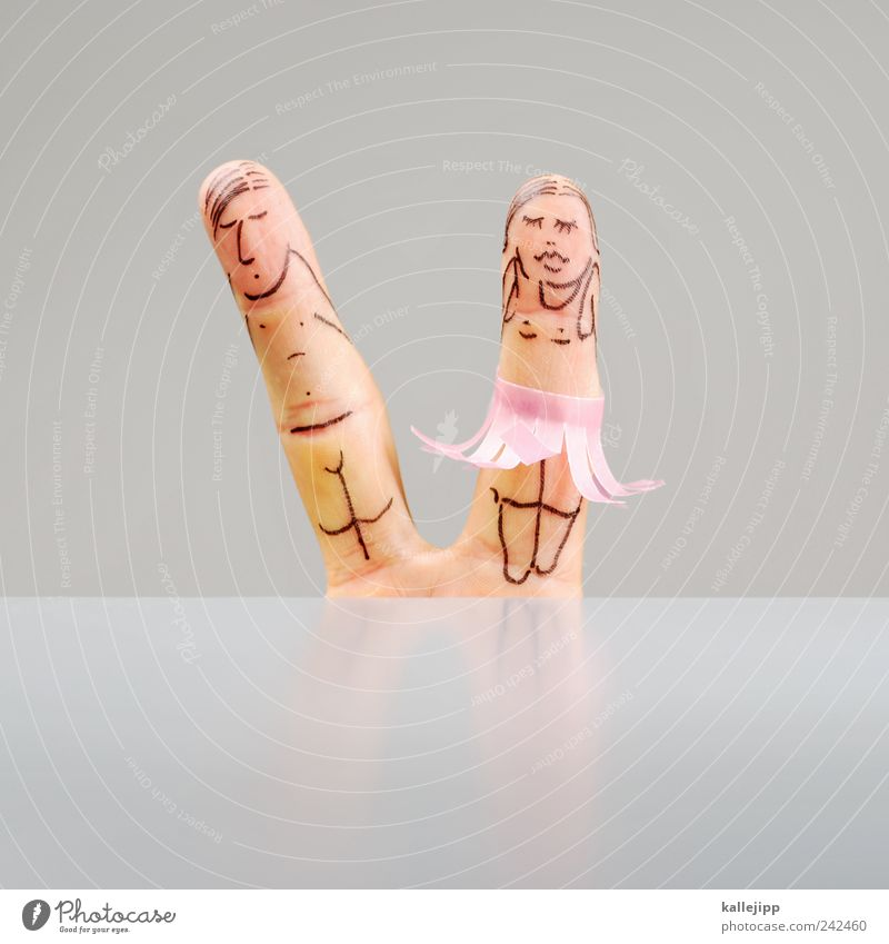 kabale und liebe Mensch maskulin feminin Paar Partner Erwachsene Leben Finger 2 Kunst Theaterschauspiel Bühne Schauspieler Puppentheater Tanzen