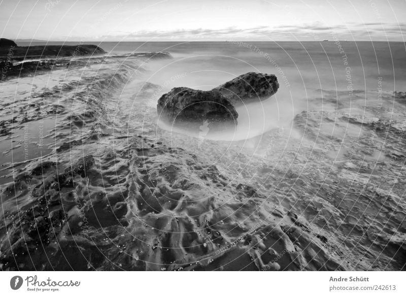 meteor Himmel alt Gefühle Umwelt Küste Stimmung nass Horizont Felsen Feuer trist bedrohlich Urelemente außergewöhnlich Australien Natur