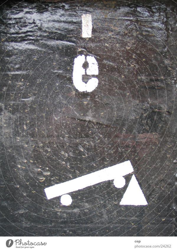 original Typo Eisenbahn Industrie Typographie Beschriftung