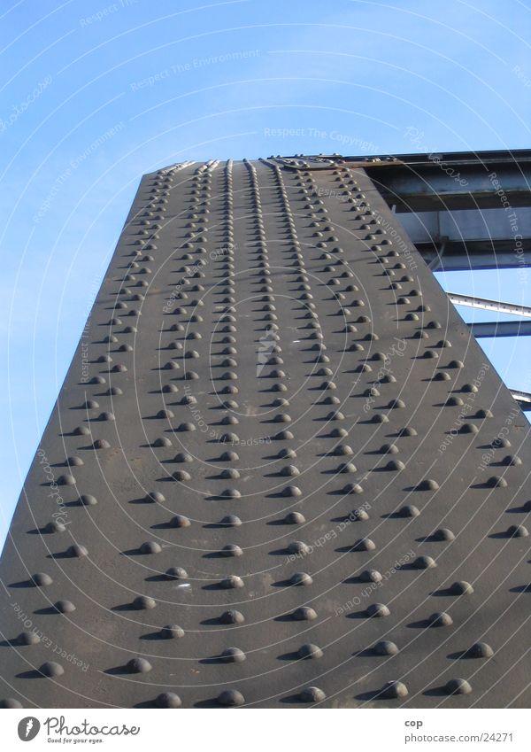 Stahlnieten Industrie Brücke Stahl Niete robust