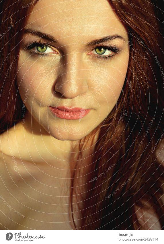 _ Student Mensch feminin Erwachsene Leben Gesicht 1 18-30 Jahre Jugendliche 30-45 Jahre Haare & Frisuren brünett rothaarig langhaarig authentisch Gesundheit