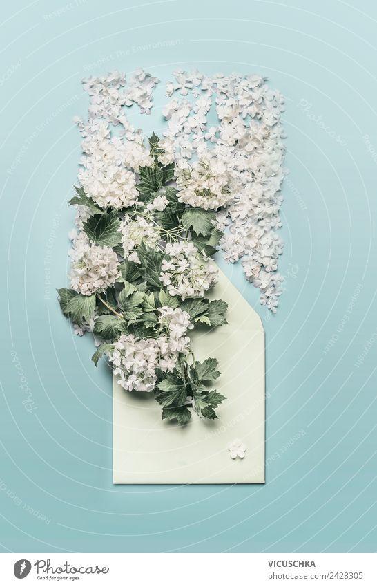 Briefumschlag dekoriert mit Blumen kaufen Stil Design Dekoration & Verzierung Feste & Feiern Valentinstag Muttertag Ostern Hochzeit Geburtstag E-Mail