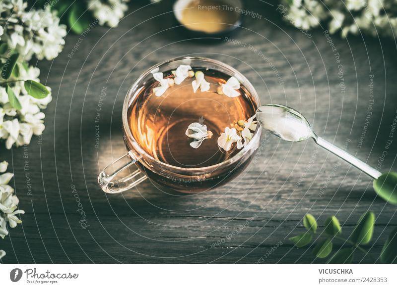 Akazienblüten Tee Getränk Heißgetränk Stil Design Gesundheit Gesundheitswesen Behandlung Alternativmedizin Gesunde Ernährung Häusliches Leben Natur Pflanze