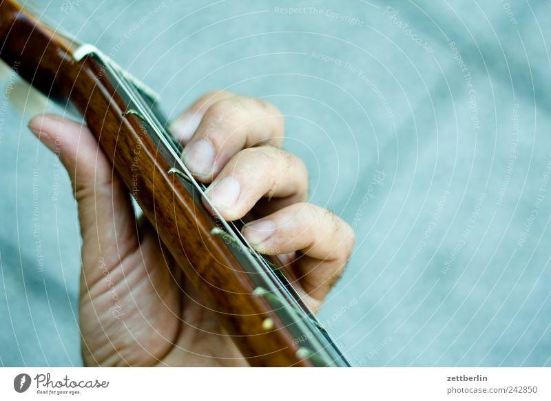 Gitarre für Anfänger Hand Spielen Musik Finger Freizeit & Hobby Show Veranstaltung Griff Ton greifen Musiker Saite Rockabilly Jugendkultur musizieren