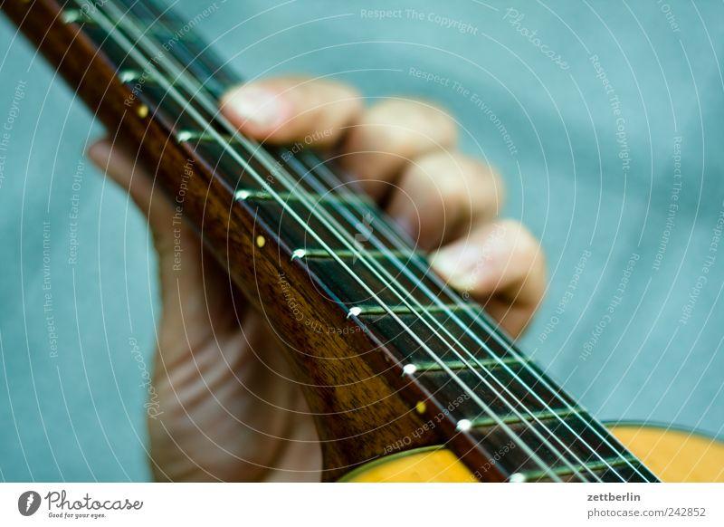Gitarre für Anfänger Hand Spielen Gefühle Musik Feste & Feiern Finger Konzert Bühne Veranstaltung Ton Griff greifen Musiker Saite Rock `n` Roll