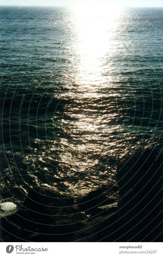 sonnenschein im wasser Sonnenuntergang Meer Reflexion & Spiegelung Wasser