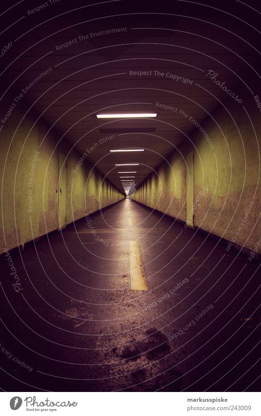 unterführung dunkel kalt Stil Wege & Pfade Gebäude Angst Architektur Design Verkehr Europa Tourismus bedrohlich Schweiz entdecken Tunnel Bauwerk