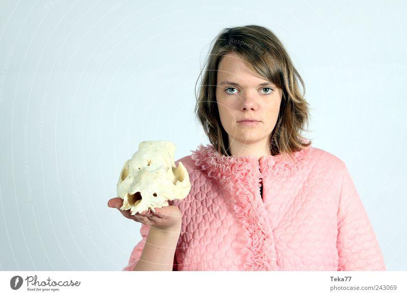 Portrait Stil exotisch Mensch Junge Frau Jugendliche Gesicht 1 18-30 Jahre Erwachsene Kunst Bekleidung Stoff brünett Dekoration & Verzierung Kitsch Krimskrams
