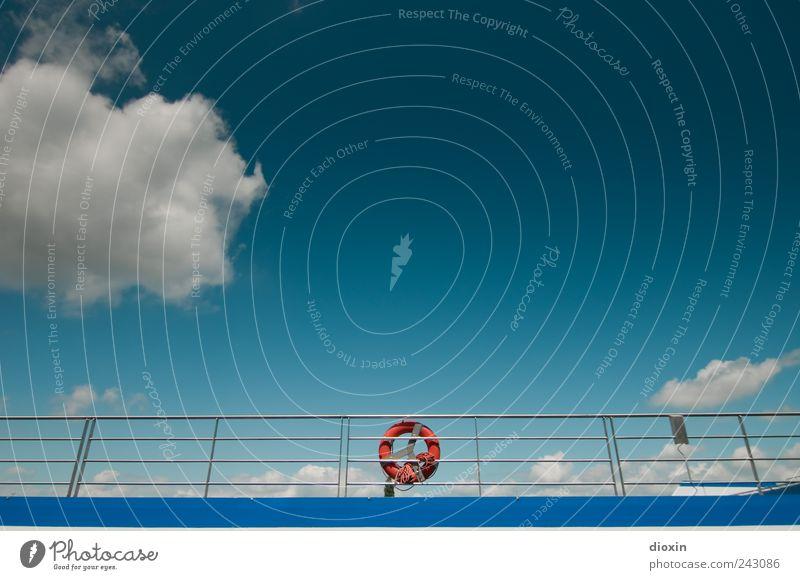 rescue area Ferien & Urlaub & Reisen Kreuzfahrt Himmel Wolken Wetter Schönes Wetter Schifffahrt Binnenschifffahrt Passagierschiff Kreuzfahrtschiff