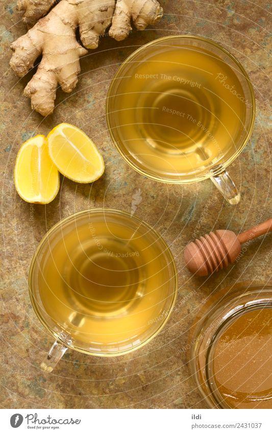 Ingwer Tee Kräuter & Gewürze Getränk Alternativmedizin frisch natürlich Lebensmittel trinken Kräuterbuch Wurzel Rhizom Leute Medizin Gesundheit gebastelt