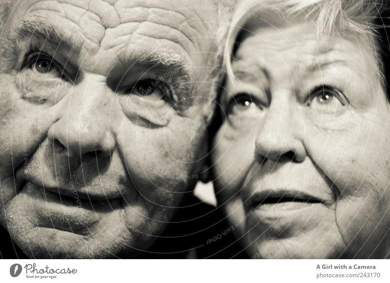 Um Himmels Willen maskulin Frau Erwachsene Mann Weiblicher Senior Männlicher Senior Großeltern Großvater Großmutter Paar Partner Leben Gesicht Auge 2 Mensch