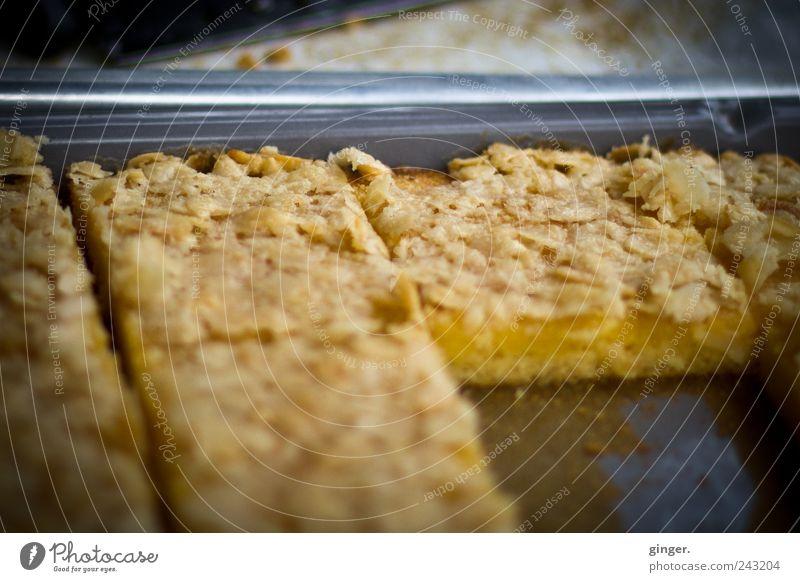 Kuchen für alle! Metall Lebensmittel Kochen & Garen & Backen lecker Blech geschnitten Präsentation anbieten Kaffeetrinken