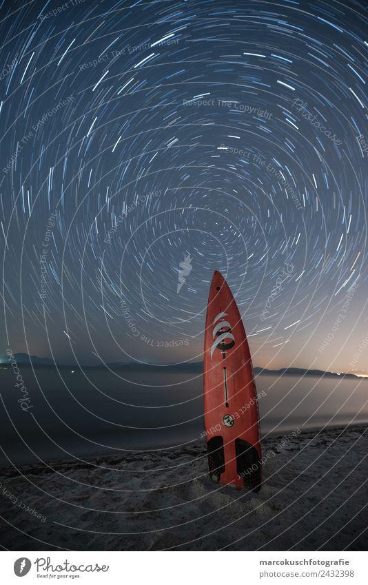Surfing with the Stars Himmel Natur Ferien & Urlaub & Reisen Sommer Wasser Landschaft Meer Strand Ferne Küste Tourismus Ausflug Wellen Insel Abenteuer