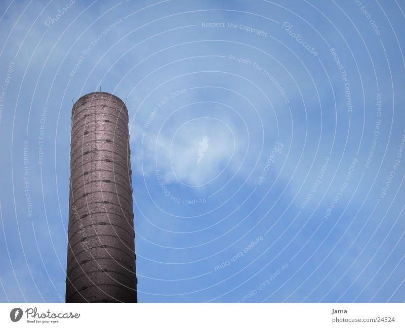 Esse Himmel Wolken Luft Industrie Backstein Abgas Schornstein Industriebau