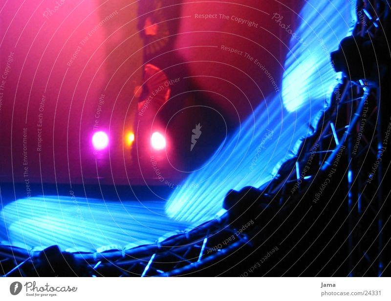 Lichtkörper 2 Fächer rosa Bühne Freizeit & Hobby Tanzen Schatten blau