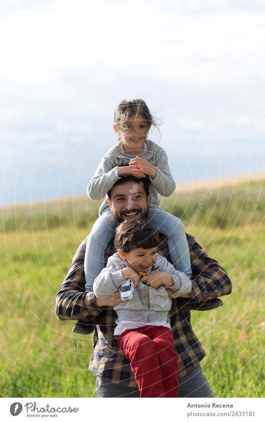 Familienfan Spielen Kind Baby Kleinkind Mädchen Junge Mann Erwachsene Eltern Vater Familie & Verwandtschaft Kindheit 3 Mensch 1-3 Jahre 3-8 Jahre 18-30 Jahre