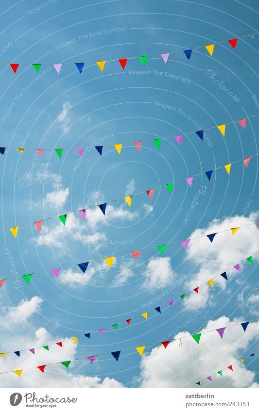 Wimpel Freude Ferien & Urlaub & Reisen Glück Feste & Feiern Freizeit & Hobby Lifestyle Dekoration & Verzierung Fahne Zeichen Jubiläum Schmuck Jahrmarkt