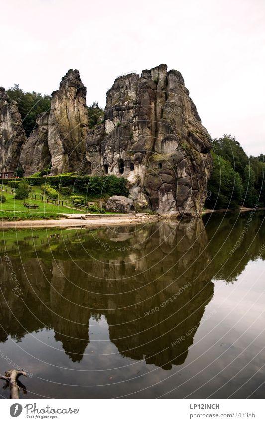 Kraftort Natur Wasser Ferien & Urlaub & Reisen Umwelt Landschaft Berge u. Gebirge Sand Stein See Park Deutschland Felsen wandern Ausflug Energie