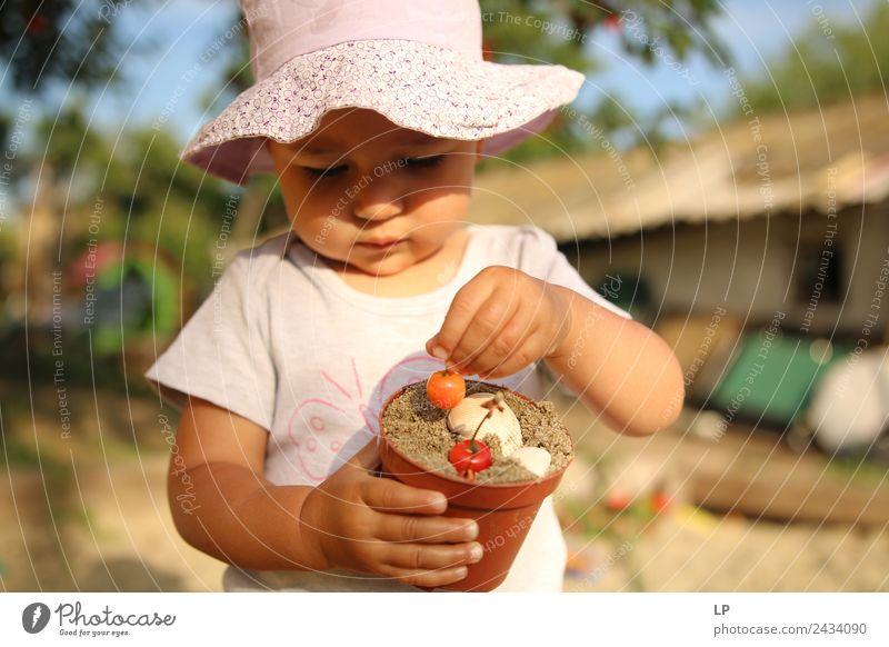 Kind Mensch Freude Mädchen Essen Erwachsene Lifestyle Leben Senior Gefühle Familie & Verwandtschaft Lebensmittel Spielen Stimmung Freizeit & Hobby Ernährung