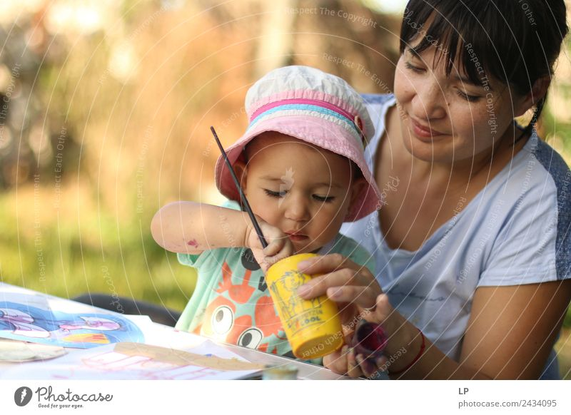 Ich male Lifestyle Freude Freizeit & Hobby Spielen Basteln Kinderspiel Kindererziehung Bildung Kindergarten Schüler Lehrer Azubi Praktikum Student Mensch