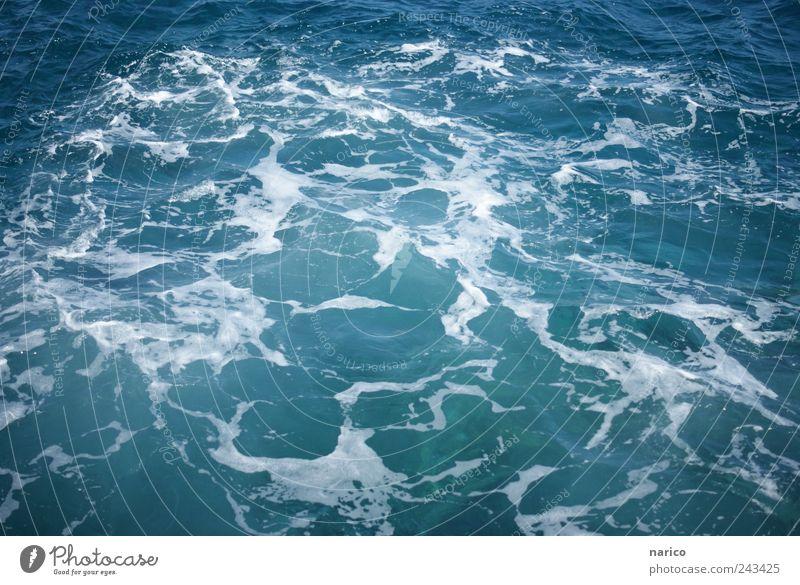 oper water Wasser Sommer Schönes Wetter Wellen Küste Meer Atlantik blau weiß Schaum Rauschen Wellengang sprudelnd Teneriffa Spanien Farbfoto Außenaufnahme Tag