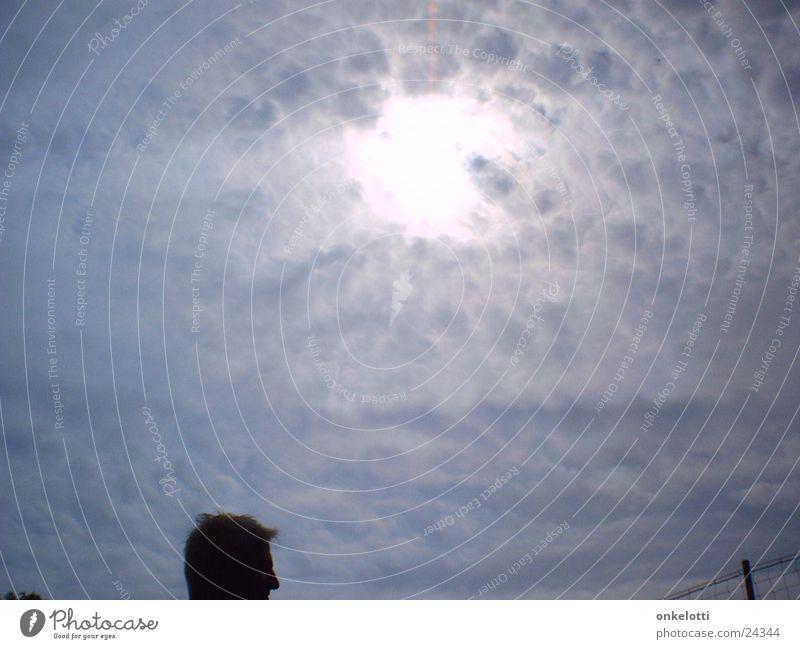 Wolkenloch Himmel Sonne Wetter bedecken