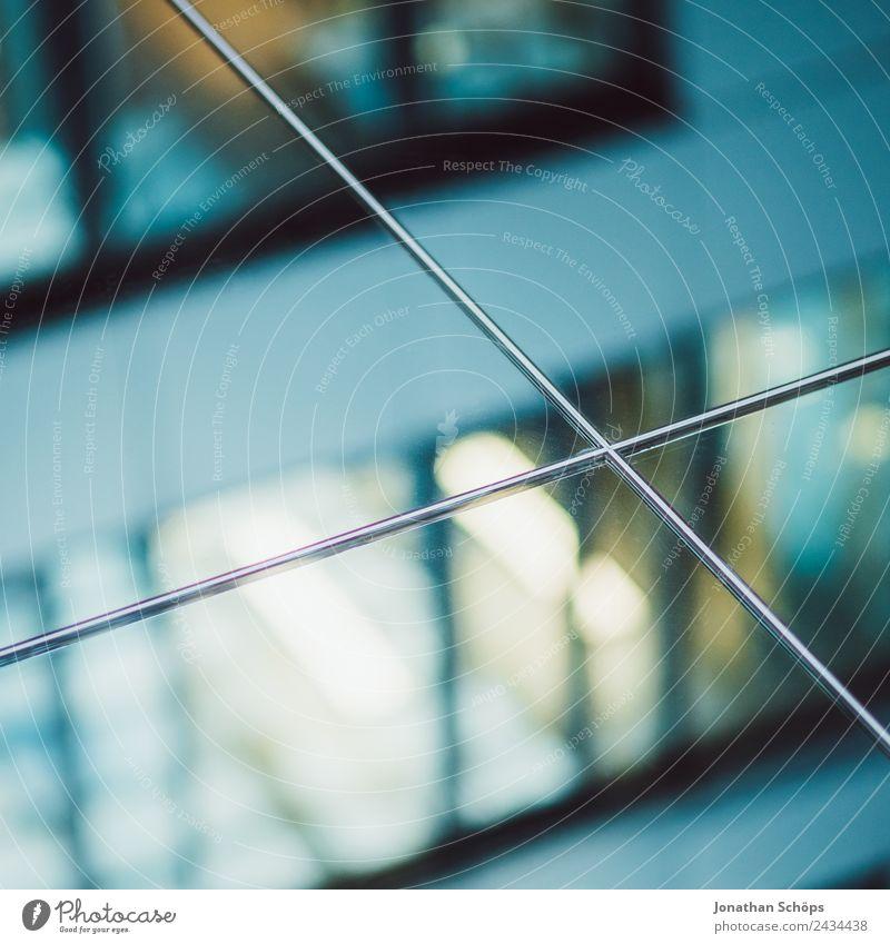 Spiegelung eines Bürogebäudes im Spiegel Stadt Architektur Gebäude Business Fassade modern Hochhaus Wachstum ästhetisch Neigung Stadtzentrum Bankgebäude