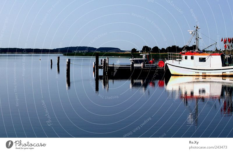 Ein sonniger Tag auf Rügen an der Ostsee Ferien & Urlaub & Reisen Sommer Sommerurlaub Strand Meer Wellen Natur Landschaft Wasser Küste Insel Idylle Hafen