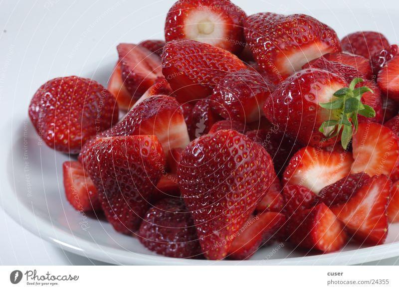 Erdbeeren rot Gesundheit Frucht Beeren