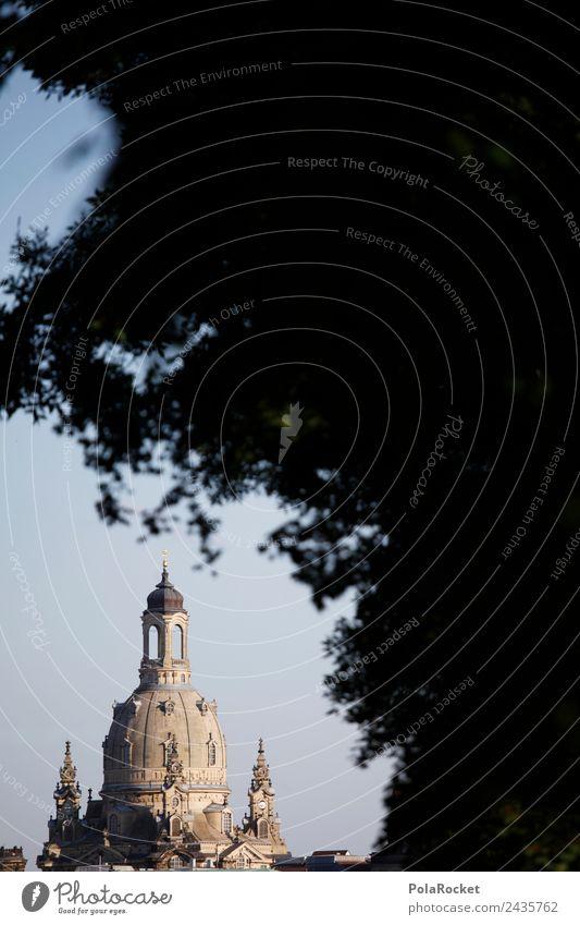 #A# Scheue Dame Hauptstadt ästhetisch Frauenkirche Dresden Sachsen Sehenswürdigkeit Kuppeldach Tourismus Farbfoto Gedeckte Farben Außenaufnahme Detailaufnahme
