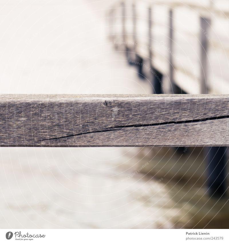 Kein Durchgang Natur Wasser Meer Einsamkeit Bewegung Holz Küste Wellen Umwelt Steg Holzbrett Ostsee Riss Trennung