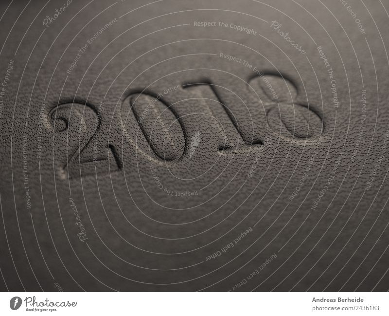 Das Jahr 2018 Weihnachten & Advent Hintergrundbild Stil Zeit Business Büro Zukunft planen Symbole & Metaphern Ziel Fahne Text Termin & Datum Nachbildung