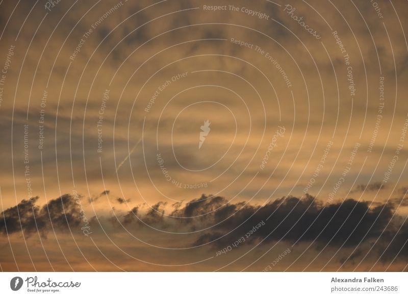 Abendhimmel I Himmel Wolken dunkel Luft Umwelt Klima unheimlich