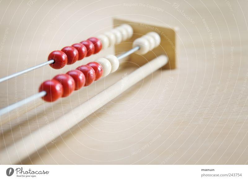 Mathe-Nachhilfe Bildung lernen Mathematik rechnen zählen Abakus Rechenschieber lernhilfe Arbeitsplatz Holz Zeichen Ziffern & Zahlen Kugel authentisch einfach