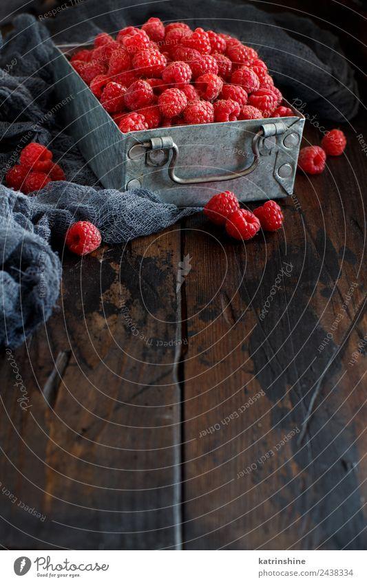 Sommer rot dunkel natürlich Textfreiraum rosa Frucht Ernährung frisch Frühstück Dessert Beeren Diät Vegetarische Ernährung Vitamin Vegane Ernährung